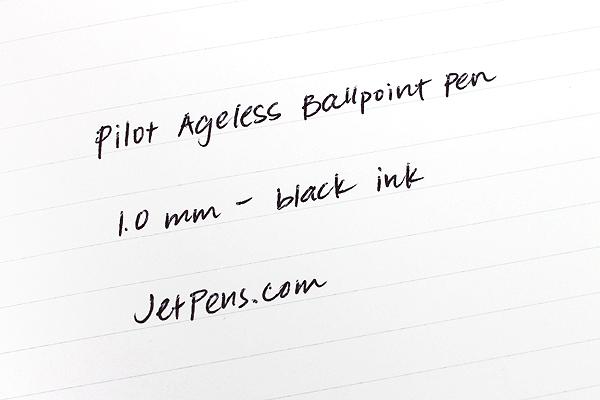 Pilot Ageless Future Ballpoint Pen - 1.0 mm - Matte Black Body - PILOT 61028