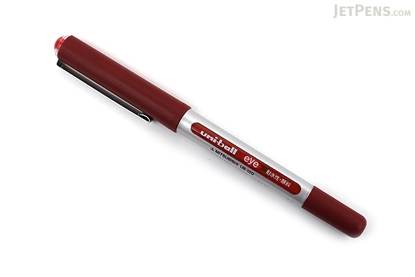 Uni-ball Eye Rollerball Pen - 0.5 mm - Red - UNI UB150.15