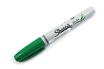 Sharpie Brush Tip Permanent Marker - Green - SANFORD 1863389