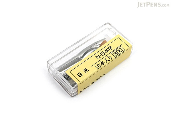 Nikko Comic Pen Nib - Japanese Model - Pack of 10 - NIKKO N555-10