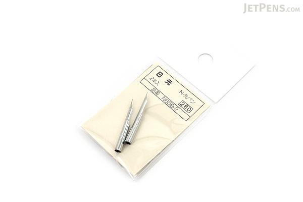 Nikko Comic Pen Nib - Maru (Mapping) Model - Pack of 2 - NIKKO N659-2