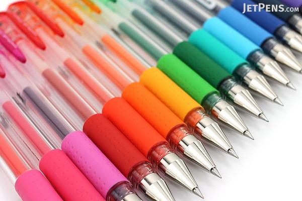 Uni-ball Signo UM-151 Gel Pen - 0.28 mm - 17 Color Bundle - JETPENS UNI UM151-28 BUNDLE 1