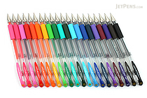 Uni-ball Signo UM-151 Gel Pen - 0.38 mm - 20 Color Bundle - JETPENS UNI UM151-38 BUNDLE 1