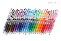 Pilot Juice Gel Pen - 0.7 mm - 24 Color Bundle - JETPENS PILOT JUICE-7 BUNDLE 1