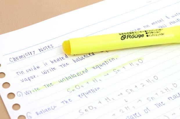 Ohto Rouge Gel Highlighter Pen