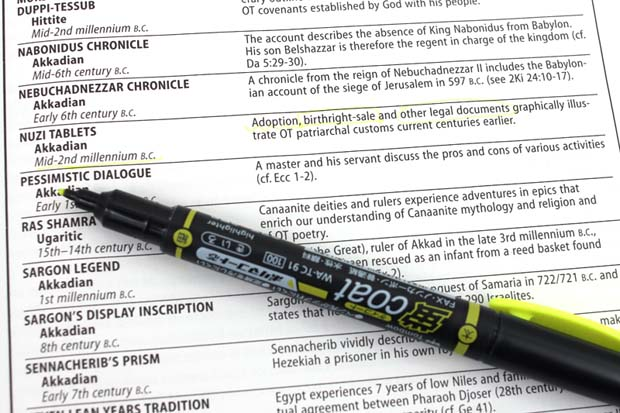Tombow Kei Coat Double Sided Highlighter