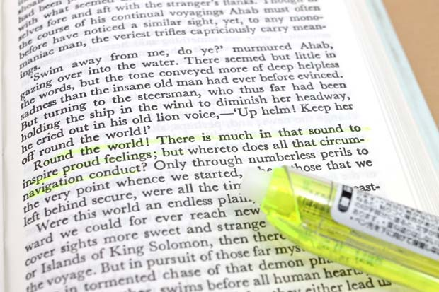 Uni Propus Highlighter Pen