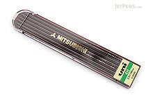 Uni Mitsubishi Lead Holder Refill - 2 mm - 4H - Pack of 6 - UNI ULN4H