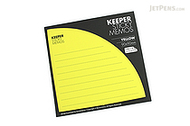 Bonomemo Keeper Sticky Memos - Yellow - BONOMEMO KEEPER Y