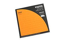 Bonomemo Keeper Sticky Memos - Orange - BONOMEMO KEEPER O