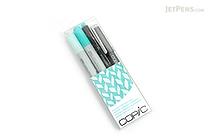 Copic Doodle Pack - 4 Pen Set - Turquoise - COPIC DPTUR