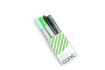 Copic Doodle Pack - 4 Pen Set - Green - COPIC DPGRN