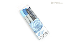 Copic Doodle Pack - 4 Pen Set - Blue - COPIC DPBLU