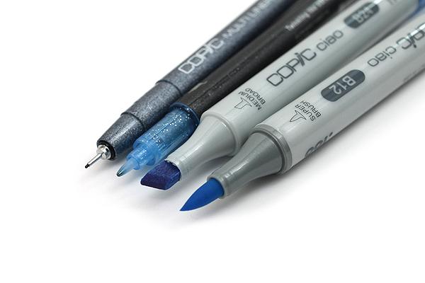 Copic Doodle Pack - 4 Pen Set - Blue - COPIC DPBLU