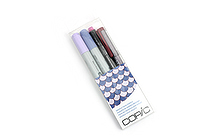 Copic Doodle Pack - 4 Pen Set - Purple - COPIC DPPUR