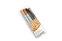 Copic Doodle Pack - 4 Pen Set - Brown - COPIC DPBRN