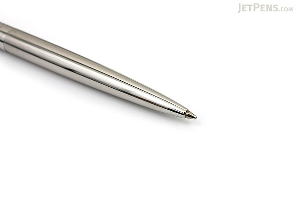 Parker Jotter Premium Ballpoint Pen - Medium Point - Shiny Stainless Steel Chiselled - PARKER S0908820