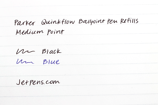 Parker Quinkflow Ballpoint Pen Refill - Medium Point - Blue - PARKER 1782470