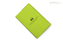 "Etranger di Costarica Transparency Memo Book - 3.3"" x 5.4"" - Lined - 32 Sheets - Apple Green - ETRANGER DI COSTARICA TRP-29-05"