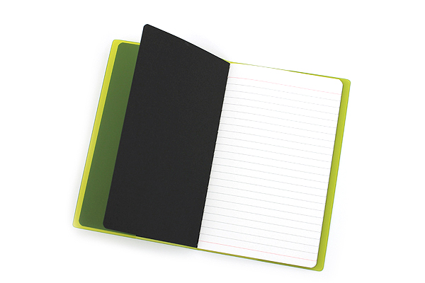 "Etranger di Costarica Transparency Memo Book - 3.3"" x 5.4"" - Lined - 32 Sheets - Apple Green - ETRANGER DI COSTARICA TRP-29-05"