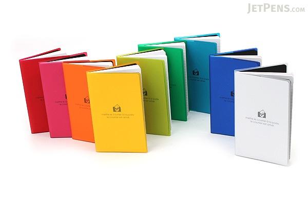 "Etranger di Costarica Transparency Memo Book - 3.3"" x 5.4"" - Lined - 32 Sheets - Green - ETRANGER DI COSTARICA TRP-29-06"