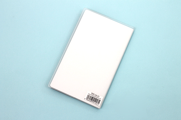 "Etranger di Costarica Transparency Memo Book - 3.3"" x 5.4"" - Lined - 32 Sheets - Clear - ETRANGER DI COSTARICA TRP-29-01"