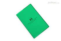 "Etranger di Costarica Transparency Memo Book - 3.3"" x 5.4"" - Lined - 32 Sheets - Green - ETRANGER DI COSTARICA TRP-29-06"