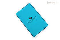 "Etranger di Costarica Transparency Memo Book - 3.3"" x 5.4"" - Lined - 32 Sheets - Light Blue - ETRANGER DI COSTARICA TRP-29-07"