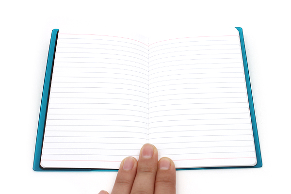"Etranger di Costarica Transparency Memo Book - 3.3"" x 5.4"" - Lined - 32 Sheets - Light Blue - ETRANGER DI COSTARICA TRP-29-07"