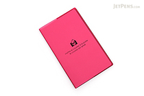 "Etranger di Costarica Transparency Memo Book - 3.3"" x 5.4"" - Lined - 32 Sheets - Pink - ETRANGER DI COSTARICA TRP-29-09"