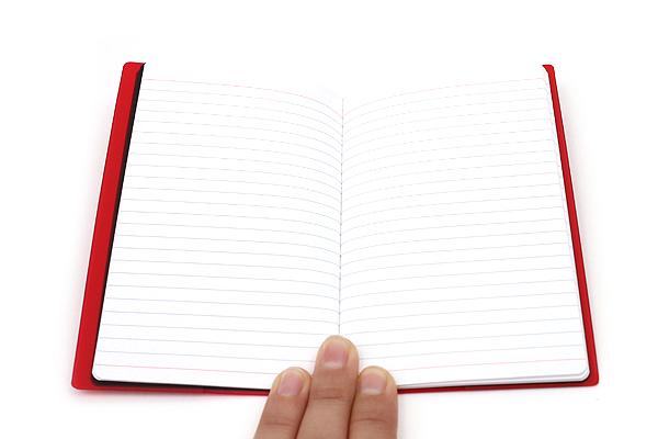 "Etranger di Costarica Transparency Memo Book - 3.3"" x 5.4"" - Lined - 32 Sheets - Red - ETRANGER DI COSTARICA TRP-29-02"