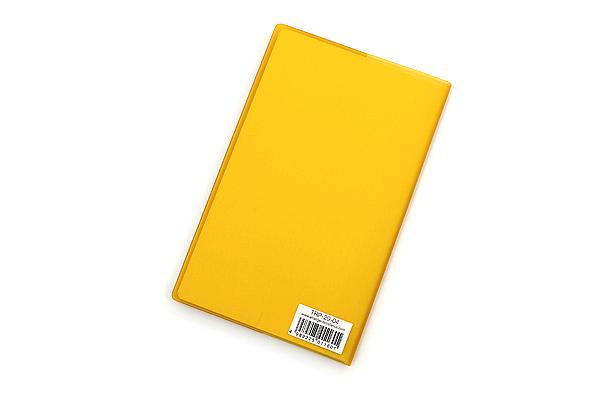 "Etranger di Costarica Transparency Memo Book - 3.3"" x 5.4"" - Lined - 32 Sheets - Yellow - ETRANGER DI COSTARICA TRP-29-04"