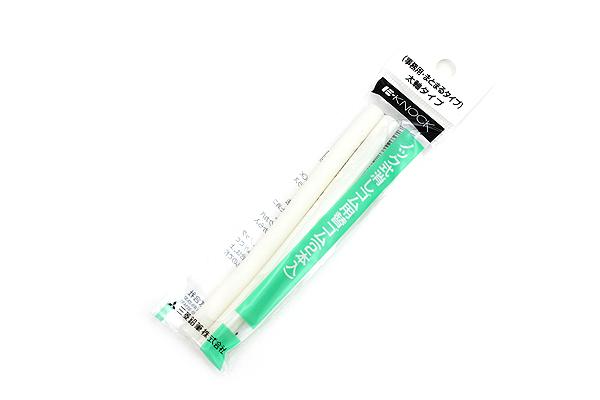 Uni E-Knock Eraser Refill - Dust-Gathering - Broad - Pack of 2 - UNI ER101MKJM