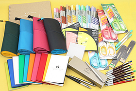 New Products: A Rainbow of Sticky Notes, Notebooks, Copic Pens, Lead Holders, Scissors, and More!
