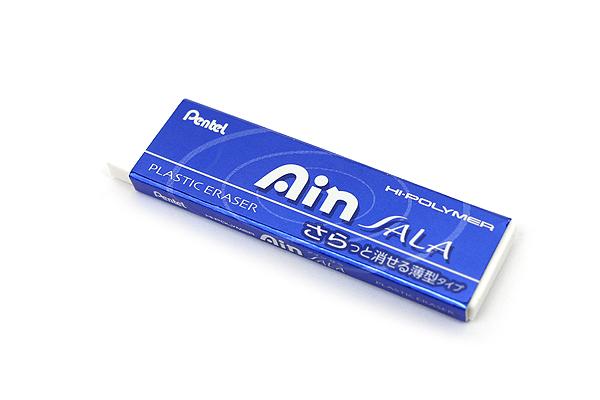 Pentel Ain Sala Hi-Polymer Eraser - Royal Blue Sleeve - PENTEL ZESA10C