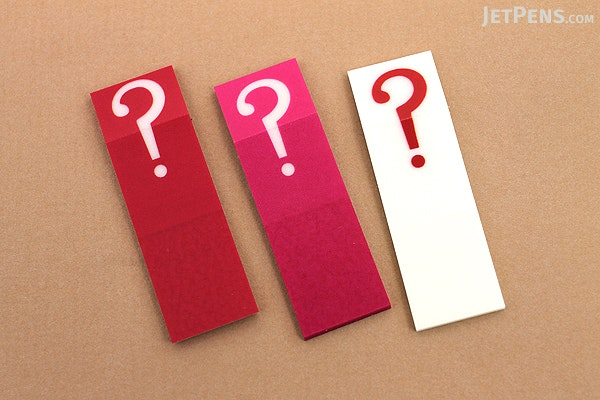 Sun-Star Piri-it Page Markers - ? (Question Mark) - Red - SUN-STAR S2057743