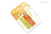 Sun-Star Piri-it Page Markers - ? (Question Mark) - Yellow - SUN-STAR S2057760