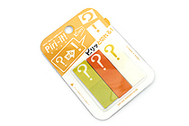 Sun-Star Piri-it Page Markers - ? (Question Mark) - Yellow - SUN-STAR S2057760