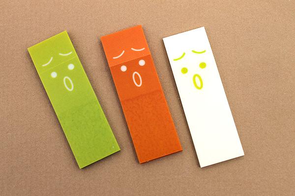 Sun-Star Piri-it Page Markers - Moyamoya Hazy - Yellow - SUN-STAR S2057808