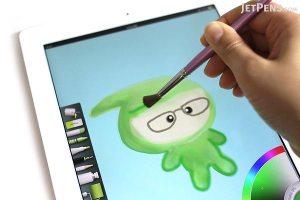 Sensu Solo Brush for Touch Screen Devices - Purple - SENSU SENSU2PRL