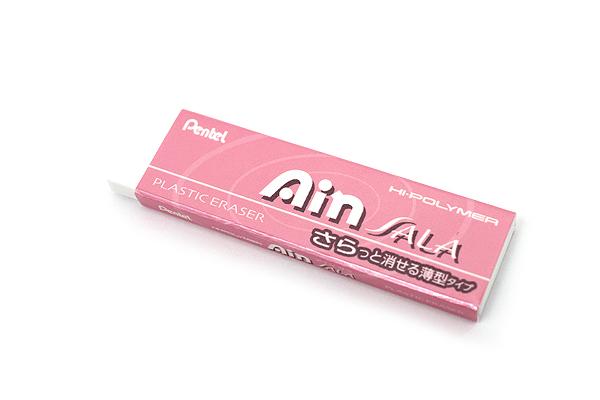 Pentel Ain Sala Hi-Polymer Eraser - Pearl Pink Sleeve - PENTEL ZESA10P