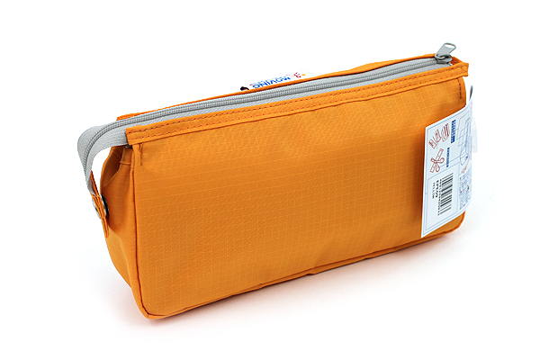 Nomadic PE-09 Flap Type Pencil Case - Yellow - NOMADIC EPE 09 YELLOW