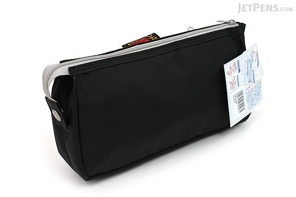 Nomadic PE-09 Flap Type Pencil Case - Black - NOMADIC EPE 09 BLACK