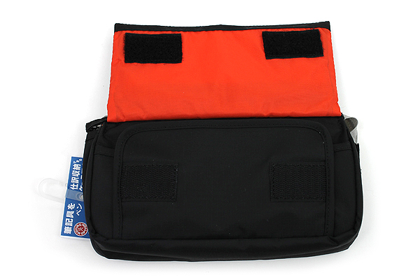 Nomadic PE-09 Flap Type Pencil Case - Black - NOMADIC EPE 09 BLACK