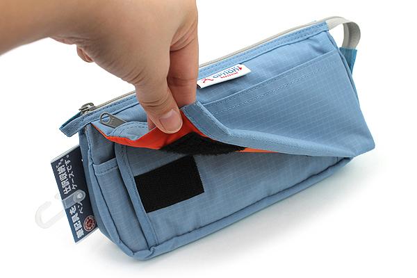 Nomadic PE-09 Flap Type Pencil Case - Light Blue - NOMADIC EPE 19 L.BLUE