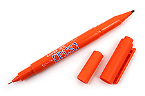 Uni Pi:s Double-Sided Marker - Extra Fine / Fine - Orange - UNI PA121T.4