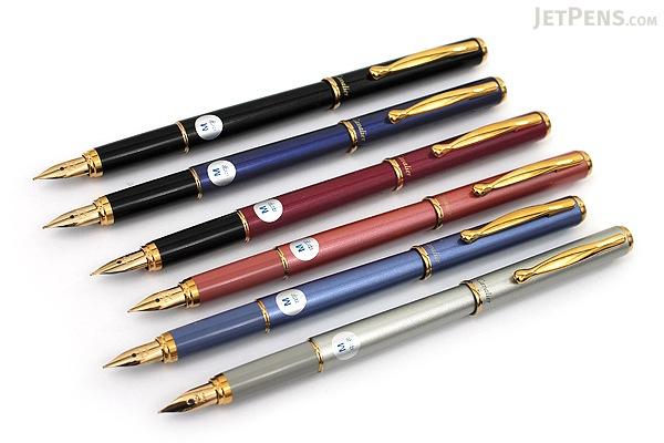 Pilot Cavalier Fountain Pen - Soft Blue - Medium Nib - PILOT FCA-3SR-SL-M