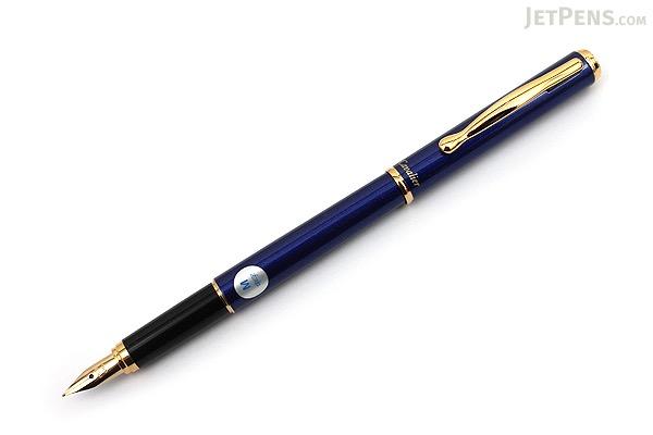 Pilot Cavalier Fountain Pen - Blue - Medium Nib - PILOT FCA-3SR-L-M