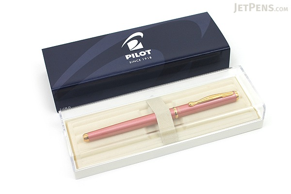 Pilot Cavalier Fountain Pen - Pink - Medium Nib - PILOT FCA-3SR-P-M