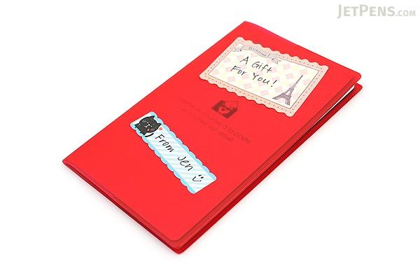 Pine Book Nami Nami Roll Label Stickers - 40 mm - Antique Cute - PINE BOOK LS00064